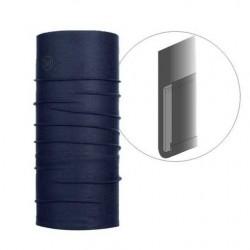 Porte-cartes 2 volets avec chainette, Médaille et grade