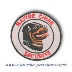Ecusson Maître-Chien