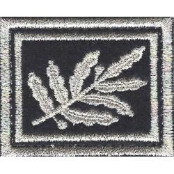 Ecusson ASVP en Soie sur Velcro